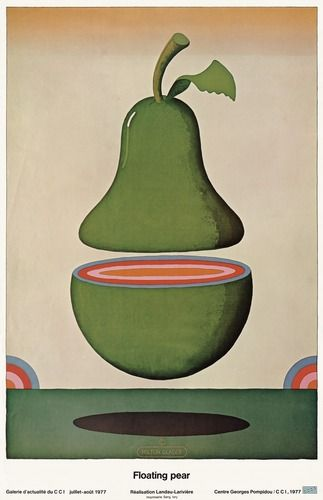 milton glaser floating pear | Milton Glaser