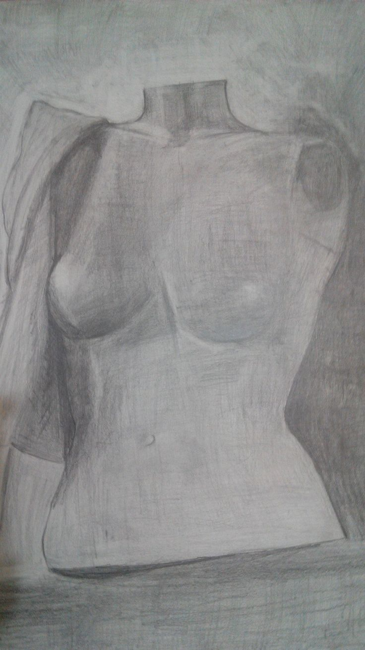 Sculpture plan with pencil