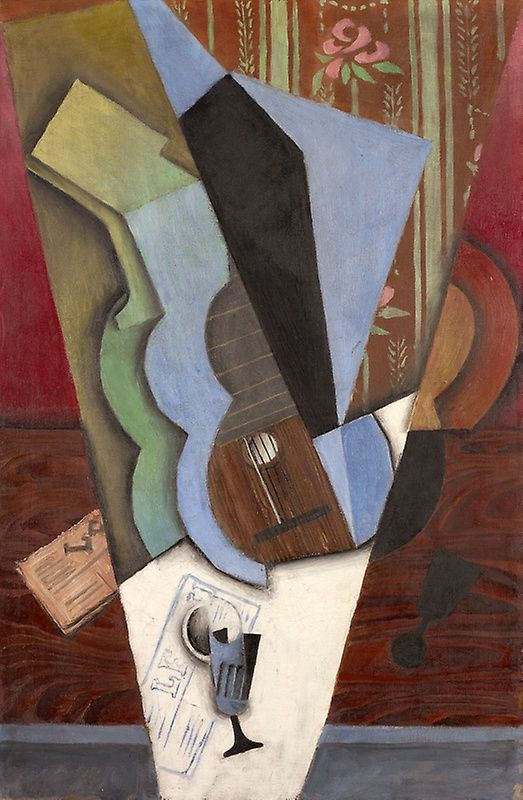 Abstraction (Guitar and Glass) | The Art Institute of Chicago
