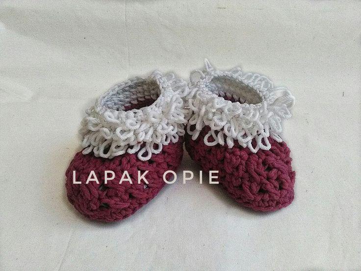 Sepatu Rajut  Baby shoes crochet