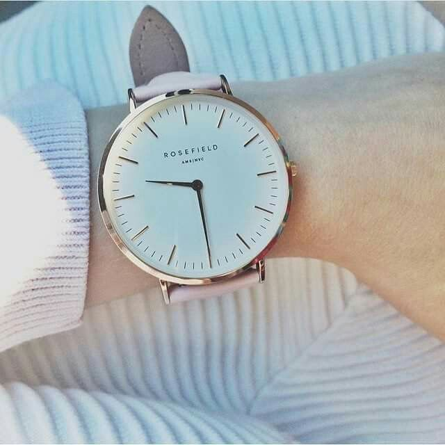 Rosefield watch - womens big face gold watches, womens watches sale online, online shopping for womens watches