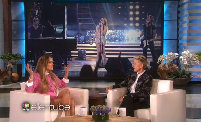 Ellen DeGeneres: Watch Jennifer Lopez Sing Top Hits On Today's Show [Video] .. http://www.inquisitr.com/2092600/ellen-degeneres-watch-jennifer-lopez-sing-top-hits-on-todays-show/
