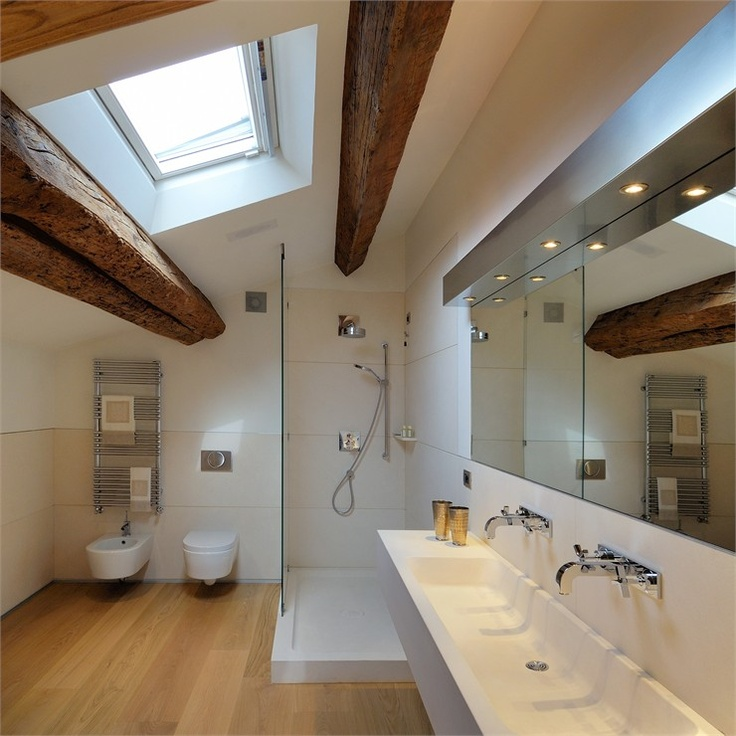 Loft by Andrea Menzo #architecture #design #bathroom