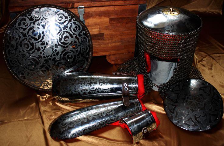 Доспехи кавказского воина 18-19 век  Armor Caucasian warrior 18-19 age
