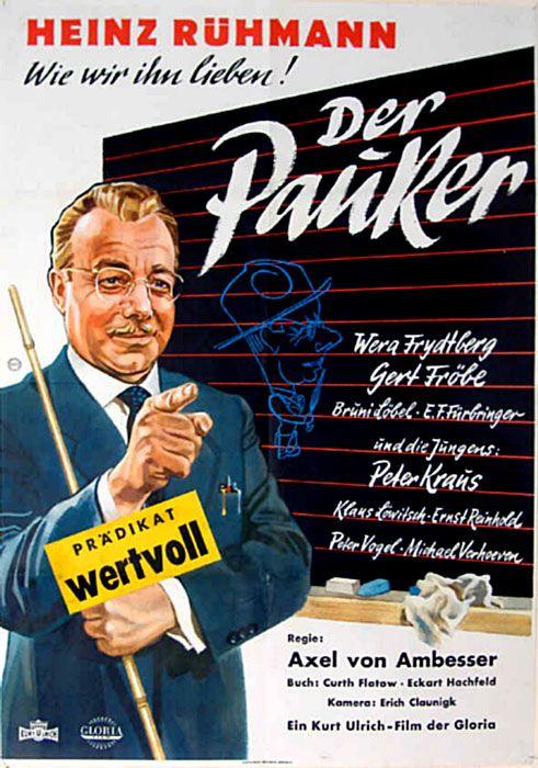Poster zum Film: Der Pauker. 1958