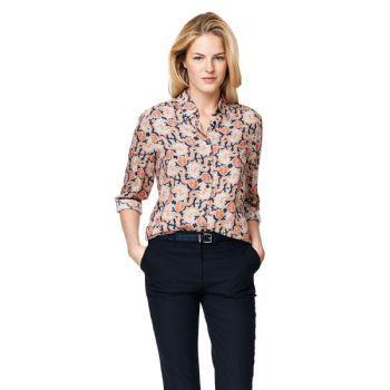 Gant Women's Paisley Print Blouse Shirt