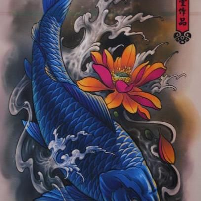 Perfect image blue koi koi pinterest shops blue for Cheap koi fish