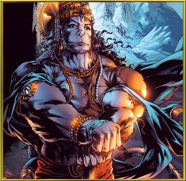 Hanuman Latest hd art picture