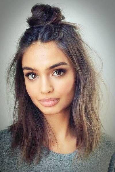 Trendige Frisuren für mittellanges Haar