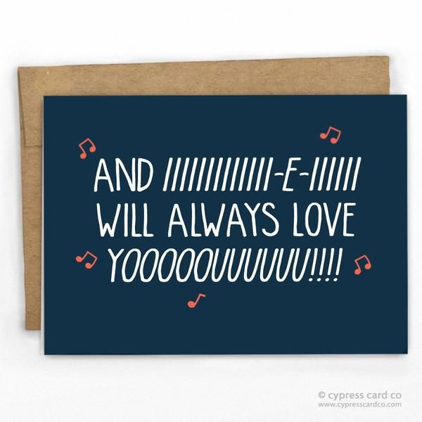 Funny Valentines Day Card | Funny Love Card by Cypress Card Co. | Wholesale Greeting Cards | 100% Recycled | More at www.cypresscardco.com