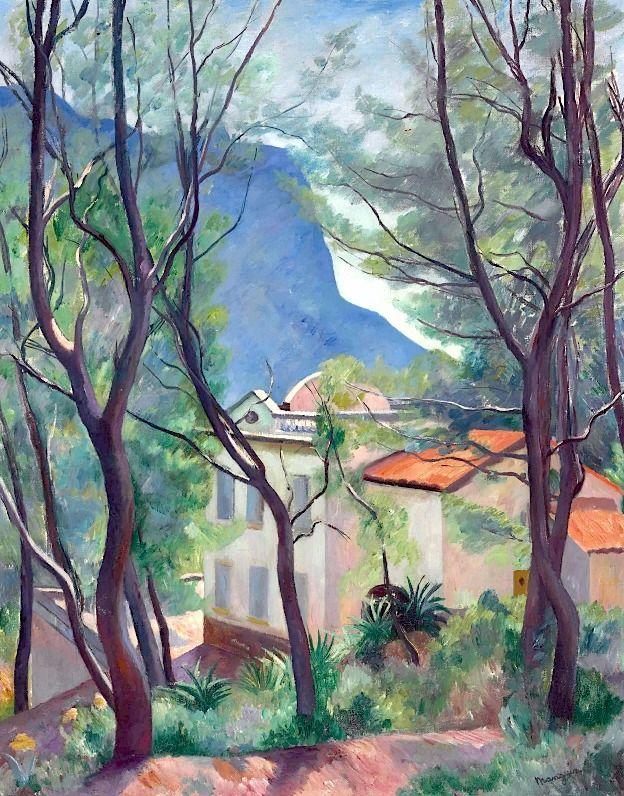 Henri Manguin (1874-1949) La maison dans les arbres, Villecroze