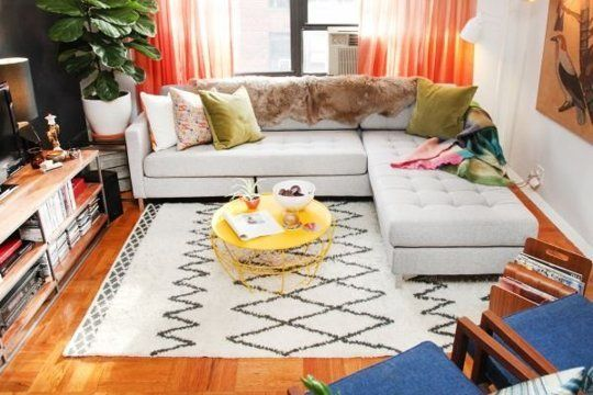 Smart Styling: Tips to Try from a Small Space Makeover Refinery 29   Apartment Therapy