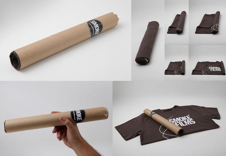 Resultado de imagen para packaging tshirt diy