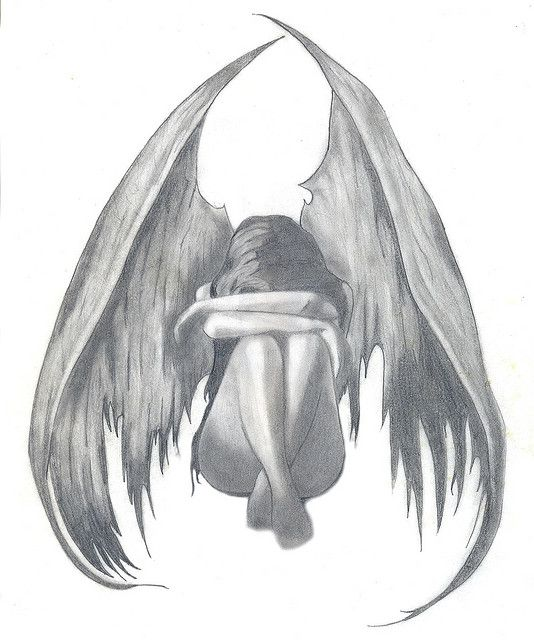 Dibujo ángel
