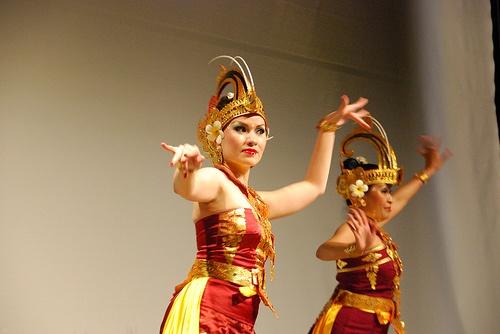 Indonesian Birds of Paradise Dance