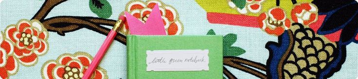 Little Green Notebook  CLEVER and well done DIY projects