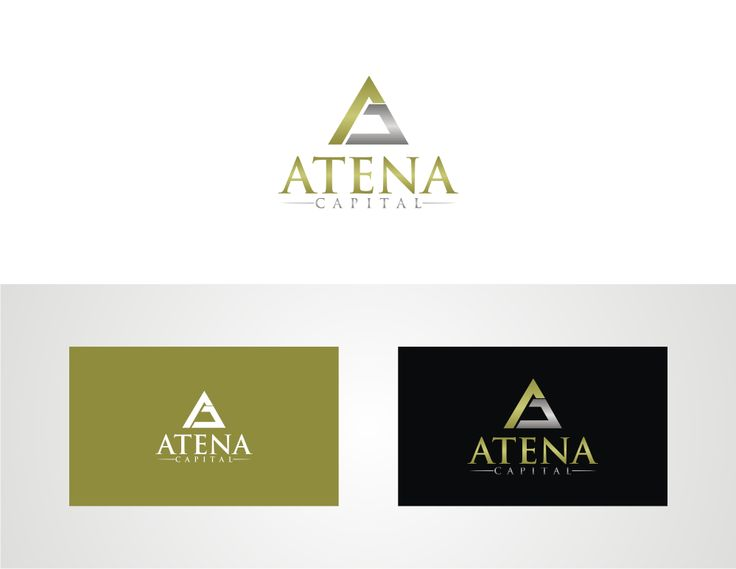 Vector Logo With Sale : Atena Capital logo