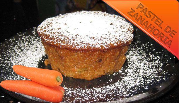 Así que quieres saber Cómo cocinar Pastel de Zanahoria que sean unas recetas de postres fáciles, algo así como torta de zanahoria casera? Que tal esta?