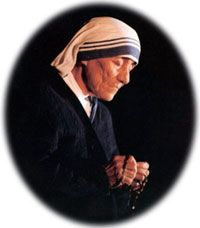 Blessed Mother Teresa Novena. Novena for life. Click for details.