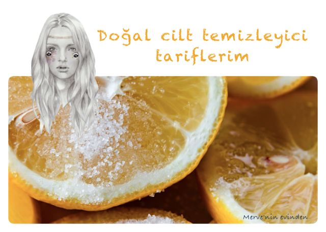 Merve'nin Evinden: Doğal cilt temizleme yöntemleri #ciltbakımı #skincare #lemon