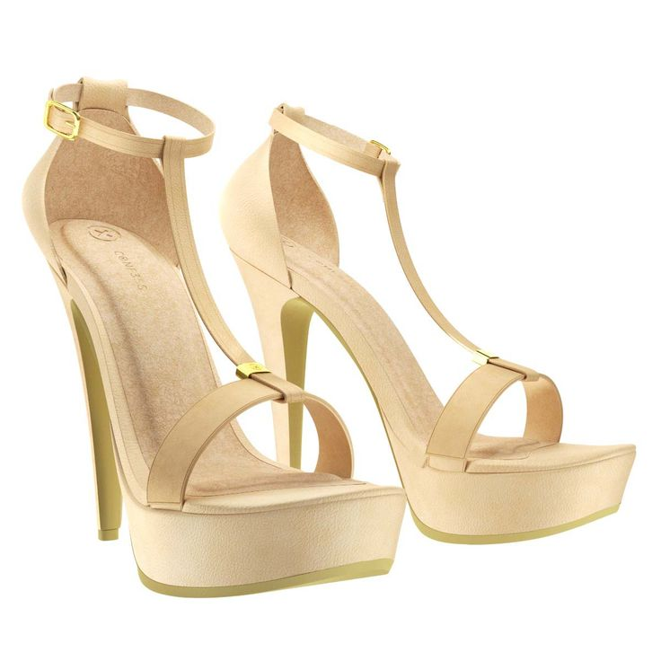 conf3ss - High Heels  - Nude, $89.95 (http://www.conf3ss.com/high-heels-nude/)