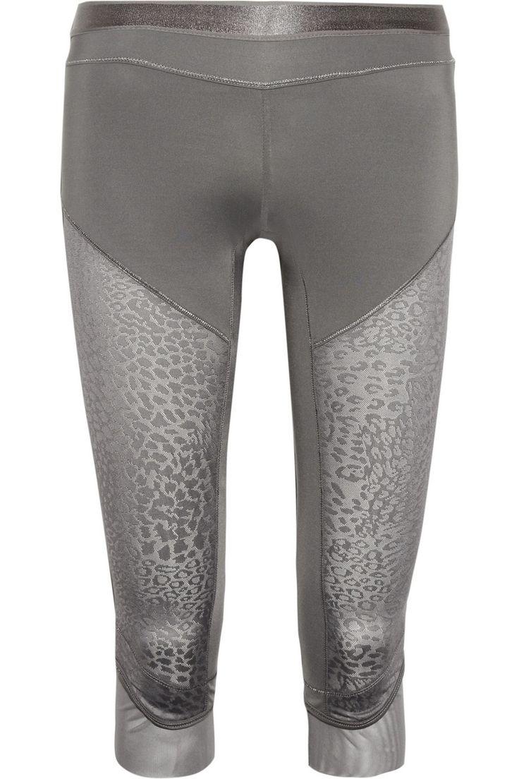 Adidas by Stella McCartney|Studio paneled stretch-nylon leggings|NET-A-PORTER.COM