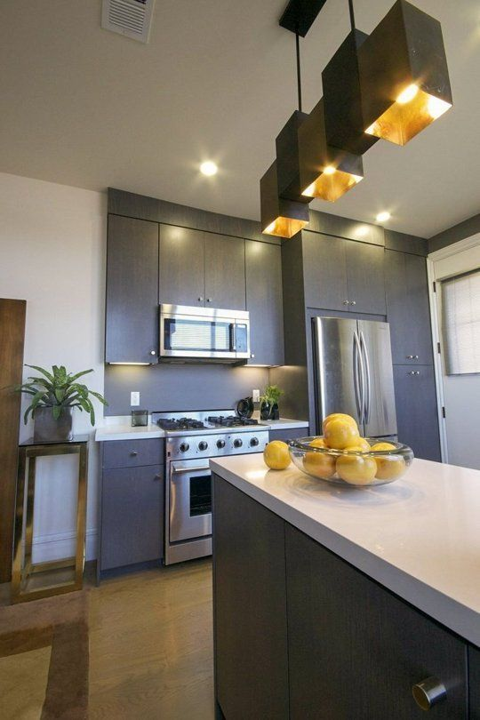 This Kitchen Demonstrates the Power of One Awesome Light Fixture — Kitchen Spotlight
