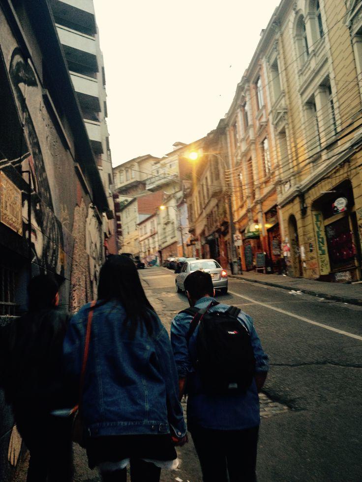 Recorriendo las calles del Barrio Histórico de Valparaiso