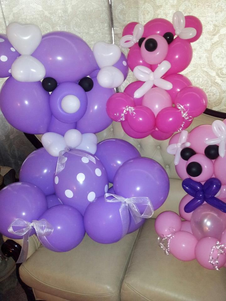 Balloon Centerpieces Nyc : Teddy bear balloon interested check us out on facebook