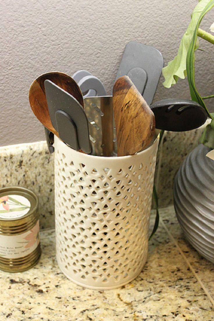 9 best kitchen images on pinterest kitchen utensil holder home top 10 best diy kitchen utensil holders