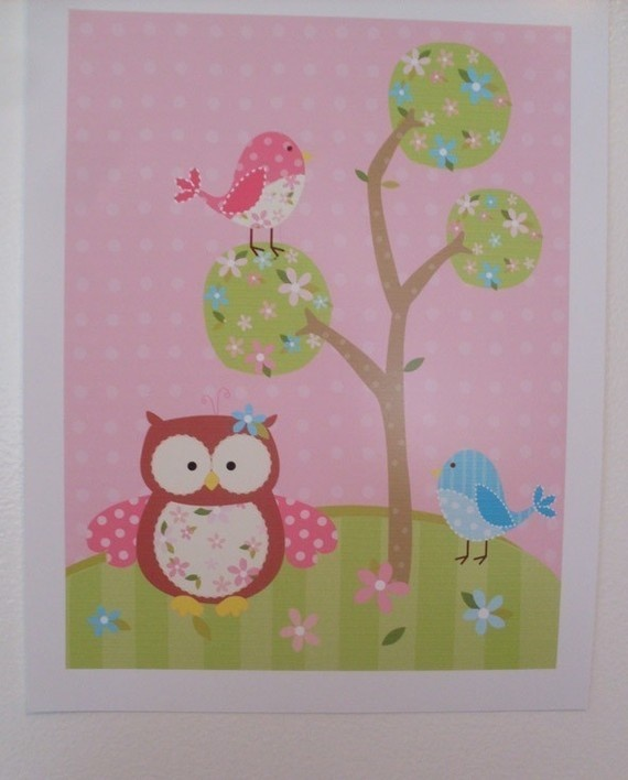 Another patchwork owl