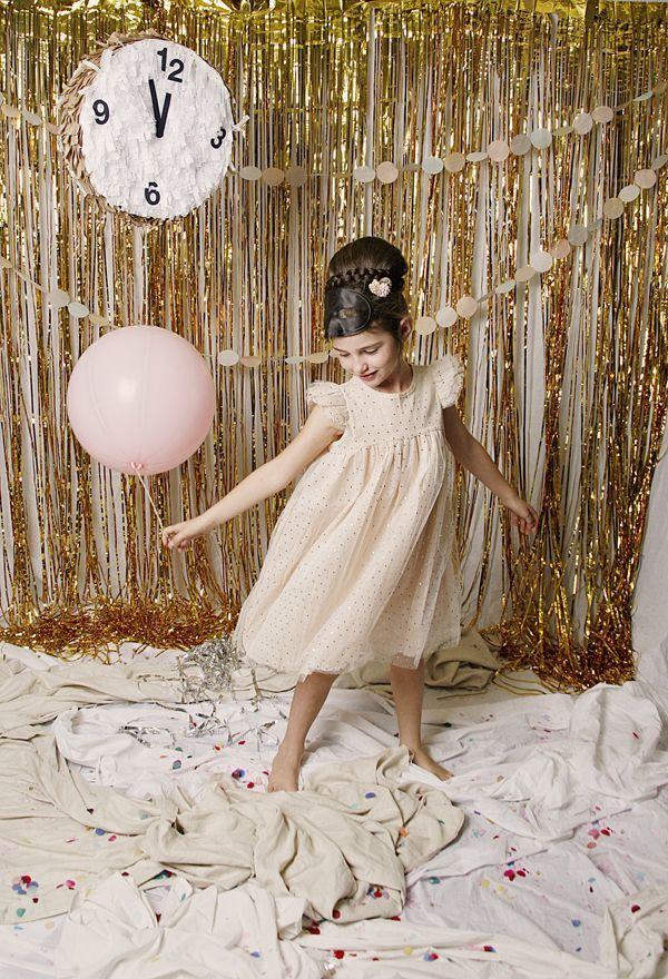 This collection of New Year's Eve DIY ideas for the kids—including a clock piñata and fun photo backdrop—will help you throw a party that your guests (and their little ones) won't soon forget. Here's to 2016!