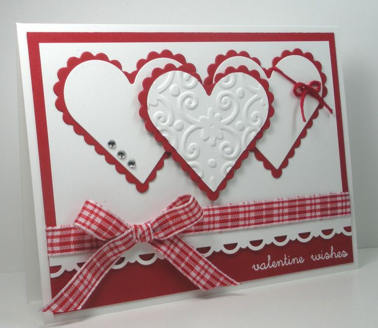 458 Best Stampin Up Valentine S Day Cards Images On Pinterest