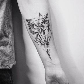 50 Beautiful Graphic Tattoo Designs by Vitaly Kazantsev