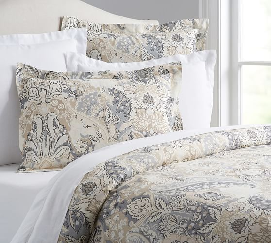 Celeste Duvet Cover & Sham | Pottery Barn                                                                                                                                                                                 More