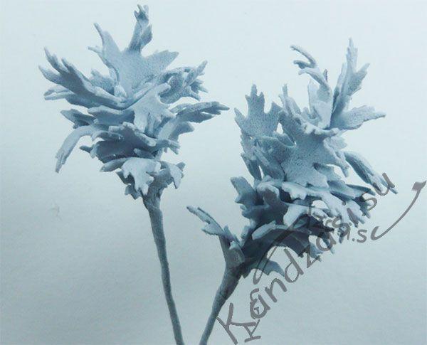 Мастер-класс изготовления веточки полыни шелковистой из фоамирана, поэтапные фото