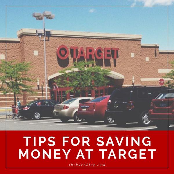Tips for Saving Money at Target