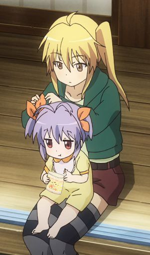 s01e10: Kaede recalls five years ago when she was first asked to look after the one-year-old Renge