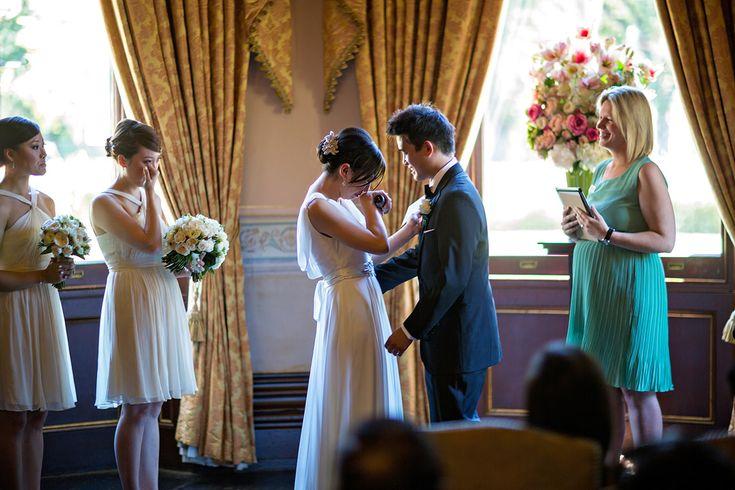 Ayers house wedding ceremony with emotions www.scottgohphotography.com.au