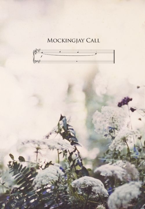 #TheHungerGames Mockingjay Call Am I the only one that finds this sort of very creepy?