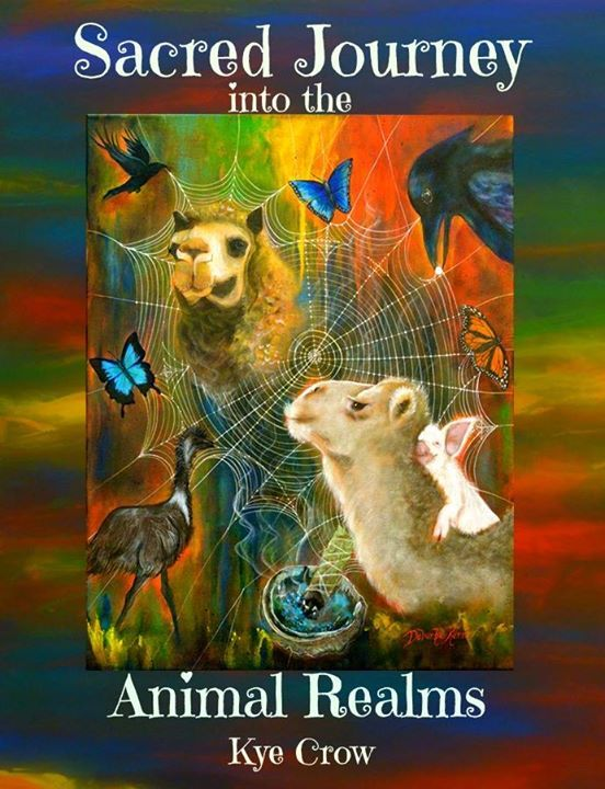 A sneek peep Chapter One of Sacred Journey into the Animal Realms. | Kye Crow