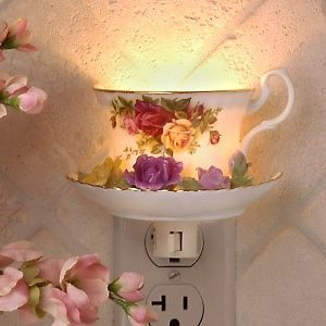 25+ DIY Recycling Ideas to Feed Your Creativity (Part 2) Teacup Nightlight – Best PSD to HTML