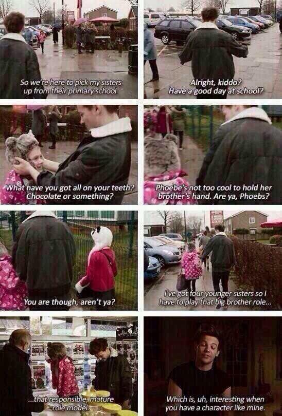 I cried.