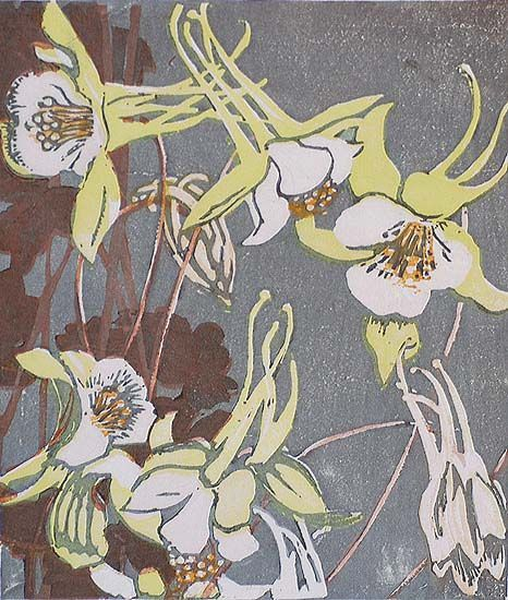 """art-and-things-of-beauty: """"Color woodcuts of flowers by Mabel Royds…"""