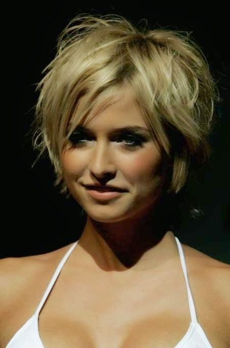 Love this cut. Messy Short Hairstyles for Women 2014
