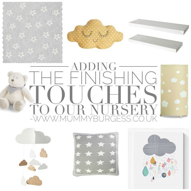 Kay from the Mummy B blog is adding final touches to her boy's nursery. Find out what she picked. Read more: http://www.mummyburgess.co.uk/2015/08/adding-finishing-touches-to-our-nursery.html
