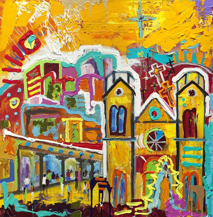 Original Santa Fe, NM Painting 024 – Tracee Gentry ...