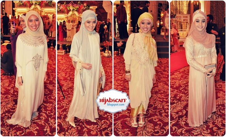 Wedding / party / prom / special occasion hijab