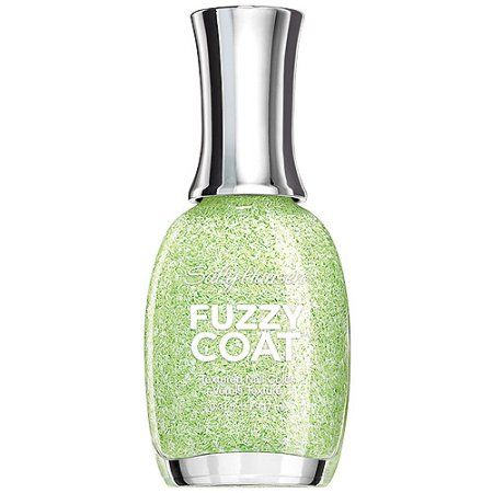 Sally Hansen Fuzzy Coat Textured Nail Color 600 Fuzzy Fantasy, 0.31 FL OZ