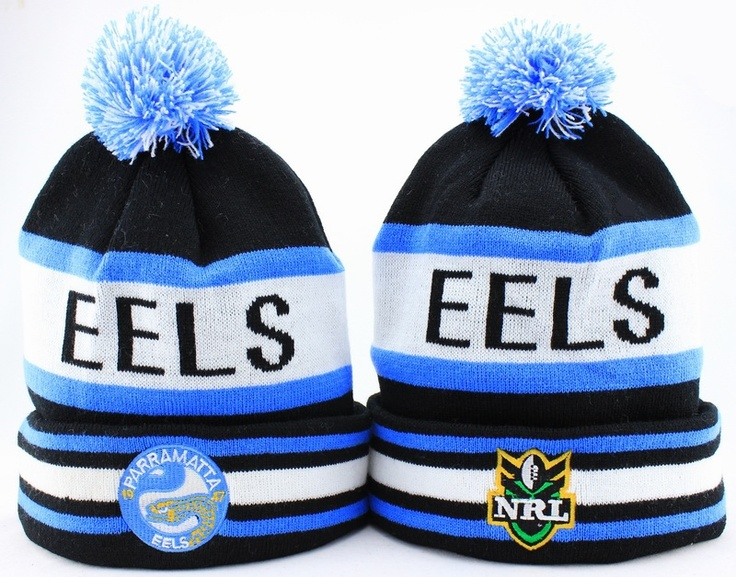 NRL Parramatta Eels Beanies (1) , buy online  $6.9 - www.hats-malls.com